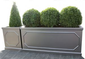 Berkely GRP Cube Planter & Trough planter from potstore.co.uk